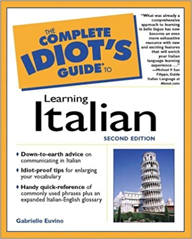Italian Language Learning Pdf Books