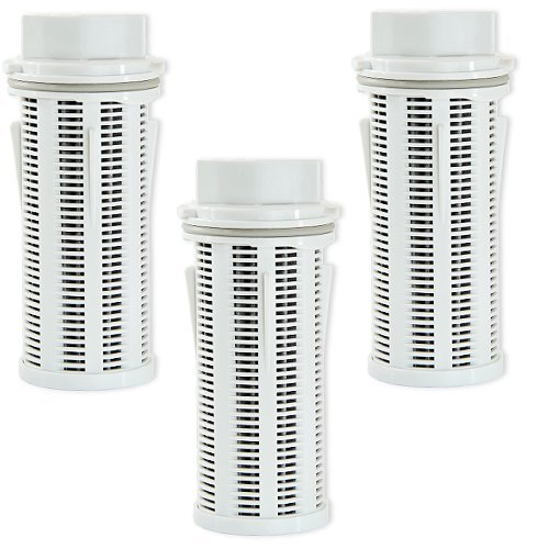 Gravity Carbon (Clear2o Gravity Replacement Water Filter with Pleated Filter Design to Maximize Dirt-Holding Capacity (3-Pack), GRF203)
