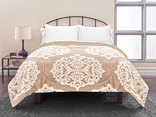 Chenille Jacquard Comforter - East End Living Jacquard Chenille Bedding Comforter, Full/Queen