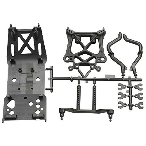 HPI Racing 85234 Skid Plate/Body Mount/Shock Tower Set - Hpi Body Mount Set