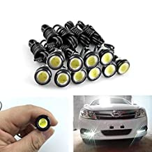 XT AUTO 10x 6500K Xenon White 9W SMD LED Eagle Eye Lamps Back Up Backup Reverse Parking Light For Car Van SUV Coupe Sedan