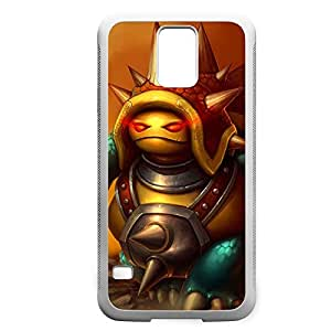 Rammus-003 League of Legends LoL For Case HTC One M7 Cover - Hard White