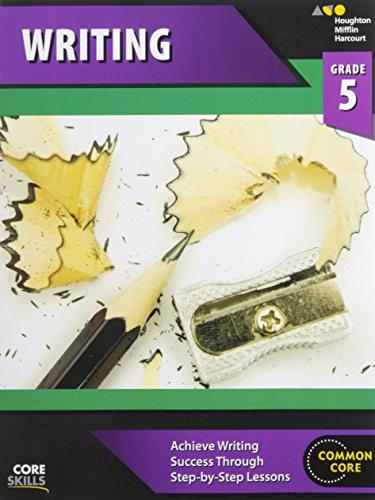 Steck-Vaughn Core Skills Writing: Workbook Grade 5 ()
