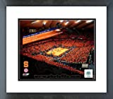 Syracuse Carrier Dome Record Breaking Crowd vs Villanova Framed Picture 8 x 10