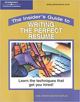 writing a perfect resume