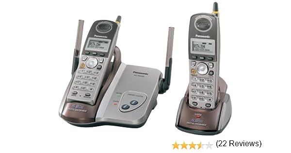 Panasonic kx-tg5422 m 5.8 GHz DSS teléfono inalámbrico con dos terminales: Amazon.es: Electrónica