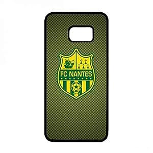 Black Hard Plastic Samsung Galaxy S6Edge&PlusPhone Funda Hot Design Fc Nantes FC Logo Funda