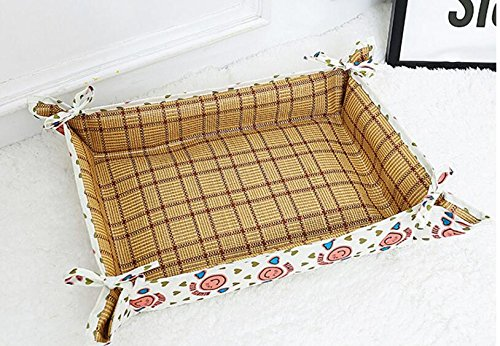 Huihuger Pet Blanket 2 in 1 Summer Oxford Impermeabile Canile Pet Mat (Rosso