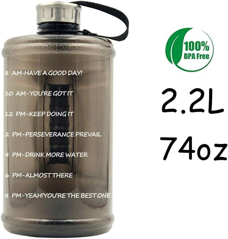 Sport Water Bottles Portable Gym anti-fall Leak-proof large Capacity