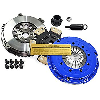 EFT STAGE 3 CLUTCH KIT & CHROMOLY RACE FLYWHEEL for 01-06 BMW M3 E46 3.2L S54