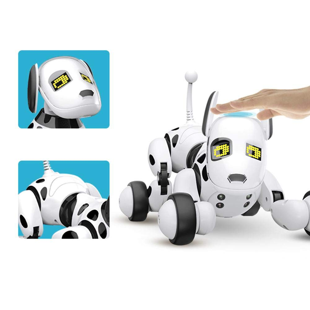 Robot Dog Wireless Remote Control Intelligent Children's Smart Toys Talking Dog Robot Electronic Pet Toy Birthday Gift by Zaote (Image #2)