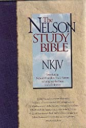 The Nelson Study Bible NKJV with Nelson's Complete Study System (#2885-Black Bonded Leather)