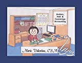 CPA Personalized Gift Custom Cartoon Print 8x10, 9x12 Magnet or Keychain