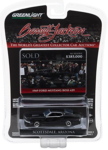 Greenlight 1:64 Barrett Jackson Scottsdale Edition 1969 Ford Mustang Boss 429