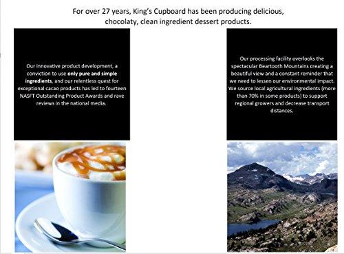 The King's Cupboard Original Organic Sampler Gift Set of Hot Fudge & Caramel Sauce by The King's Cupboard (Image #4)'