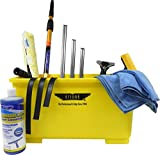 window cleaning tool kit - Ettore Professional Window Cleaning Kit with 4' Extension Pole