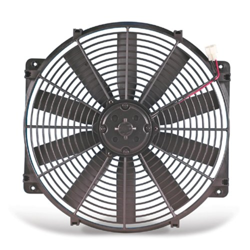 Flex-a-lite 116 Black 16'' Trimline Fan (reversible) by Flex-a-lite