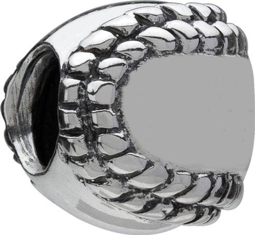 Authentic Chamilia Sterling Silver Charm Baseball (Pugster Baseball)