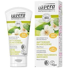 lavera Crème Equilibrant Matifiant – Vegan – Cosmétiques naturels – Ingrédients végétaux bio – 100% naturel 50 ml