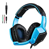Sades SA920 PS4 Xbox One Multi Function Stereo Gaming Headset Pro Gaming Headphones with Mic(Black&Blue)