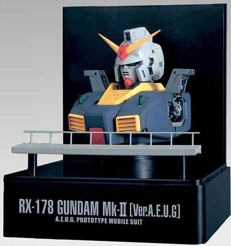 RX-178 Gundam Mk-II Head Display