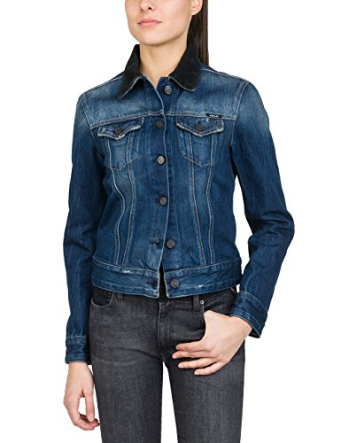 9 Jeans Denim Donna Replay Giacca In blue Blu awffTZ
