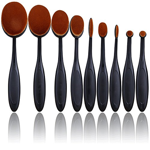 Toothbrush Style Makeup Foundation Brush - 4