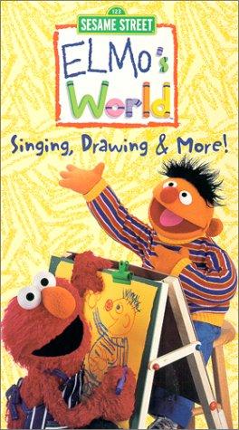 Sesame Street series: Elmo's World - Singing, Drawing & More[VHS]