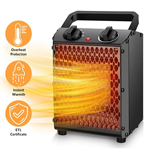 Space Heater 750W1500W Portable
