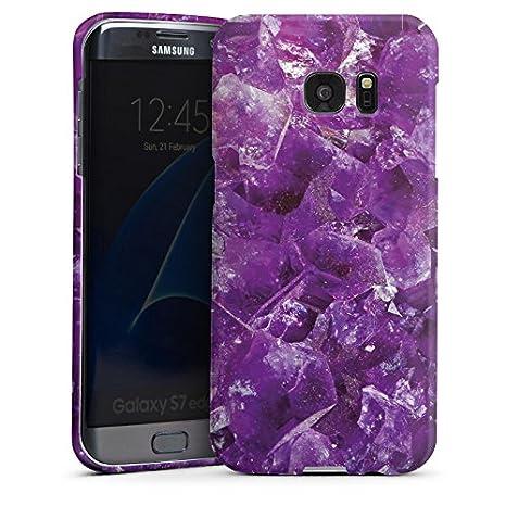 Carcasa Samsung Galaxy S2 Amatista piedras preciosas lila ...