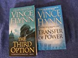 2 Book Set By Vince Flynn (The Third Option, Transfer of Power)