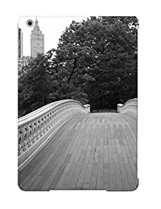 Qwjwot-297-wcanalz Tpu Case Skin Protector For Ipad Air Central Park Bow Bridge With The San Remo With Nice Appearance For Lovers Gifts