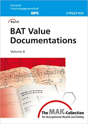 The MAK-Collection for Occupational Health and Safety: Part II: BAT Value Documentations (The MAK-Collection for Occupational Health and Safety.