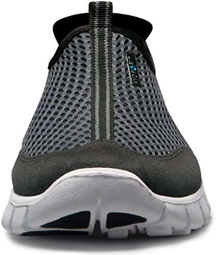 TSLA Men's Boost Running Walking Sneakers Performance Shoes