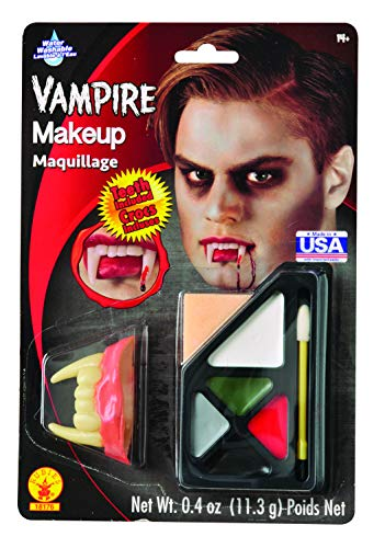 Halloween Makeup Ideas For Guys With Beards (Rubie's Costume Co Vampire Makeup)