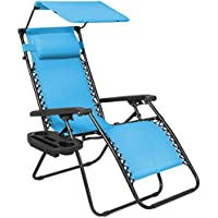 Best Choice Products Folding Zero Gravity Lounge Chair