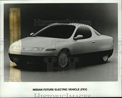 Amazon Com Vintage Photos 1992 Press Photo Nissan Future Electric