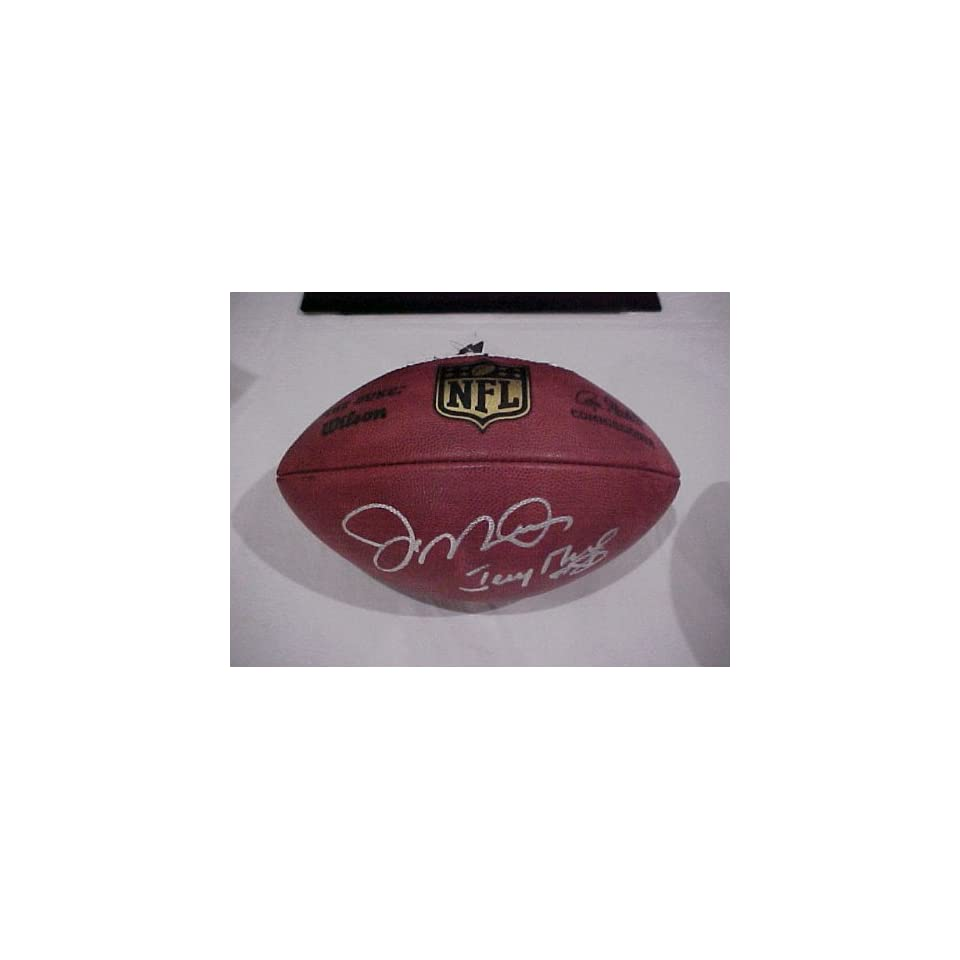 Joe Montana & Jerry Rice Autographed Hand Signed Official Nfl Game