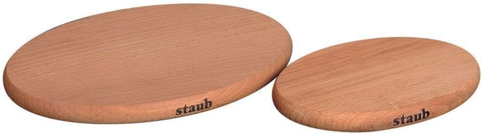 15 x 11 cm Staub 40509-516-0 Magnetischer Topfuntersetzer Holz
