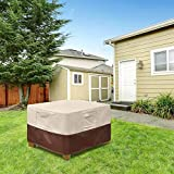 Vailge Square Patio Ottoman Cover, Waterproof