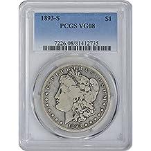1893 S Morgan Dollar VG08 PCGS