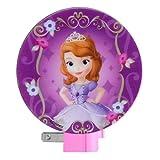 Disney Princess Sofia the First Night Light-Purple