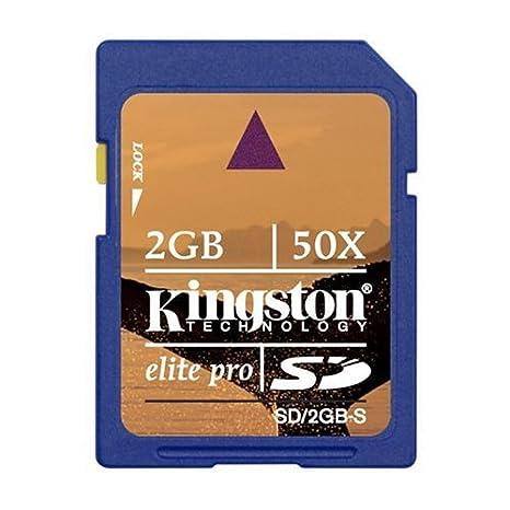 Kingston Technology 2GB Elite Pro SD Card 50x Memoria Flash ...