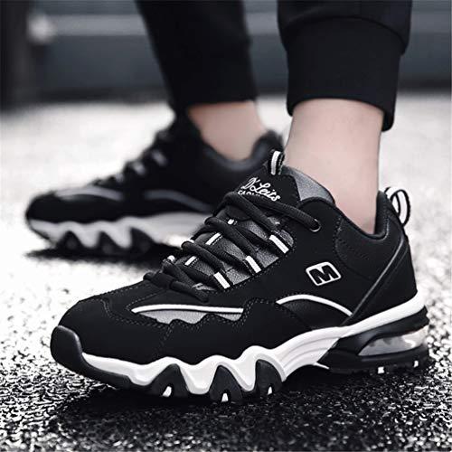 Nieve Zapatillas Mujeres Ocasionales Negro Botas Blanco Zapatos Felpa Calor CóModo Invierno Zapatillas AmortiguacióN 150q5wZ