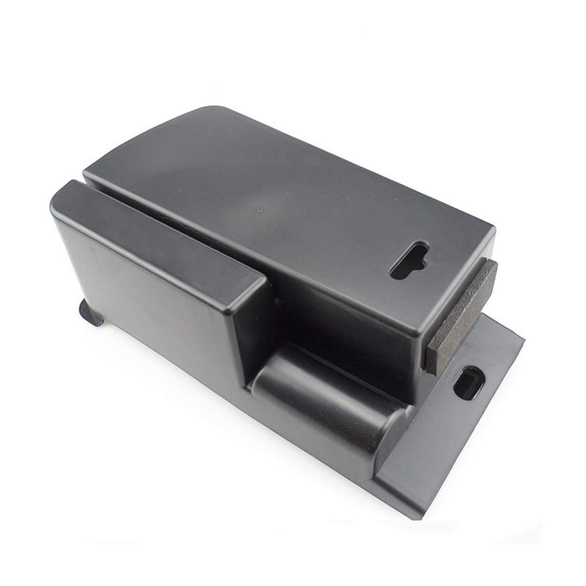 GOFORJUMP Caja de Almacenamiento de Paleta de Caja de Almacenamiento de Guantes de reposabrazos Central Negro ABS para P//eugeot 3008 2011-2015 Accesorios para autom/óviles