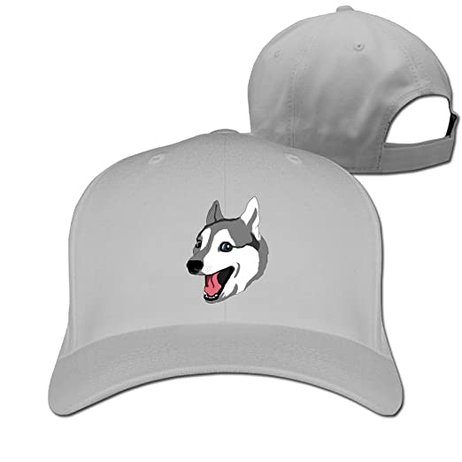 93dd6195bee Image Unavailable. Image not available for. Color  Baseball Cap Happy Husky  Dad ...