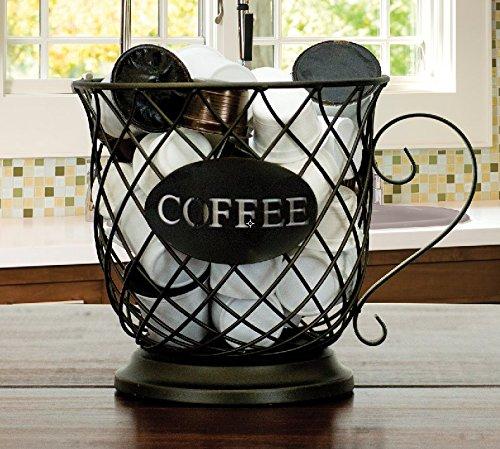 Kup Keeper Coffee & Espresso Pod Holder, Coffee Mug Storage Basket by Boston Warehouse by Boston Warehouse (Image #1)