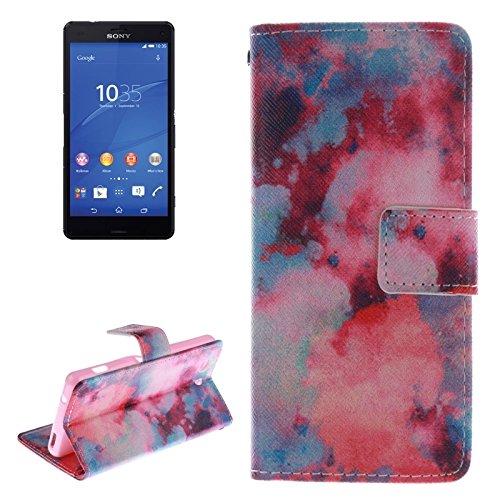 Beautiful & practical Búho patrón de la caja de cuero con soporte y ranura para tarjetas y cartera para Sony Xperia Z3 Compact / Z3 mini ( SKU : S-MLC-0413F ) S-MLC-0413C
