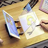 DIY Drawing Tracing Pad Optical Lenses Sketch Wizard Painting Board Zero-Based Drawing Mould Painting Reflection Tracer Art Stencil Tool Draw Projector Copy Pad for Artists,Kids,Students