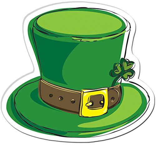 Block Buster Costumes Saint Patrick's Day Leprechaun Hat Cut Out Decoration]()